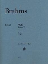 Walzer op. 39 für Klavier zu 2 Händen