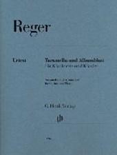 Tarantella und Albumblatt für Klarinette und Klavier