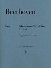 Klaviersonate Nr. 22 F-dur op.