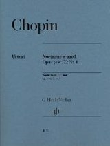 Nocturne e-moll op. post. 72,1 | Frédéric Chopin |