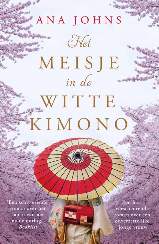 Het meisje in de witte kimono