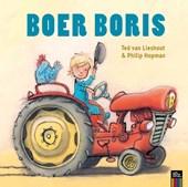 Omkeerboek: Boer Boris en Boer Boris in de sneeuw