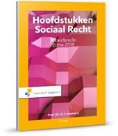 Hoofdstukken sociaal recht Arbeidsrecht editie 2018