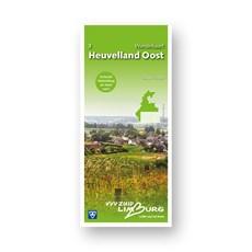 Zuid-Limburg Wandelkaart 3: Heuvelland Oost 1:25.000 geplastificeerd