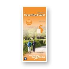 Zuid-Limburg Wandelkaart 2: Heuvelland West 1:25.000 geplastificeerd