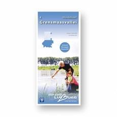 Zuid-Limburg Wandelkaart 4: Grensmaasvallei 1:25.000 geplastificeerd