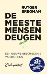 De meeste mensen deugen - limited edition - gesigneerde editie   Rutger Bregman   2000000007120