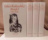 [ 4 dln.] Briefe 1 t/m 4 | Oskar Kokoschka |