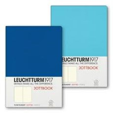 LEUCHTTURM A5 ICE/ROYAL BLUE DOTTED