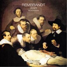 Rembrandt Alla Luna Wall Calendar 2021