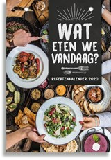 SCHEURKALENDER 2020 WAT ETEN WE?  - FSC MIX CREDIT | auteur onbekend | 8712048317683