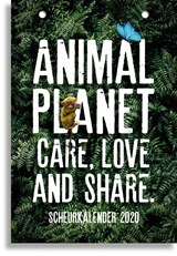 SCHEURKALENDER 2020 ANIMAL PLANET - FSC MIX CREDIT | auteur onbekend | 8712048317782
