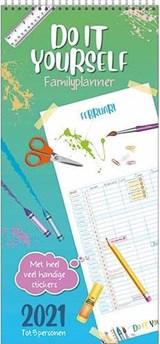 Familieplanner Do It Yourself 2021 - met stickers - t/m 5 personen | 1029 | 8716467670619