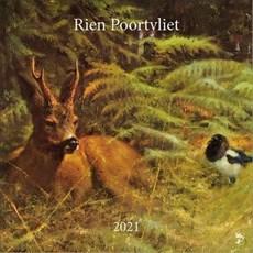 Kalender - 2021 - Rien Poortvliet - Natuur - 30x30cm