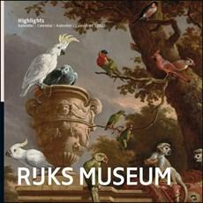 Rijksmuseum Highlights maandkalender 2022