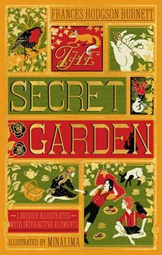 Minalima illustrated classics: Secret garden (illustrated with interactive elements)