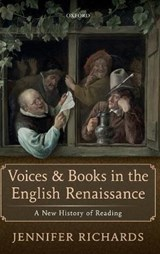 Voices and Books in the English Renaissance | No Contributor |