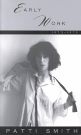 Early Work | Patti Smith |