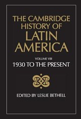 The Cambridge History of Latin America | Leslie Bethell | 9780521266529