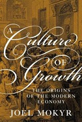Culture of growth | Joel Mokyr |