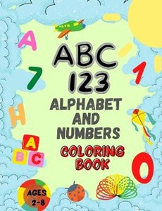 ALPHABET & NUMBERS COLOR BK FO