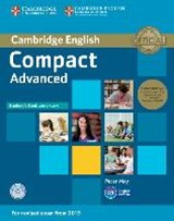 Compact Advanced Student's Book Pack (Student's Book with Answers and Class Audio CDs(2)) [With CDROM] | Peter May | 9781107418196