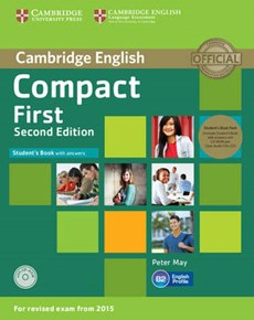 Compact First Student's Book Pack (Student's Book with Answe