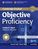 Objective Proficiency Student's Book Without Answers with Downloadable Software | Annette Capel | 9781107611160