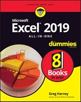 Excel 2019 All-in-One For Dummies | Greg Harvey |