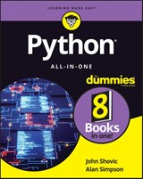 Python All-in-One For Dummies | Shovic, John ; Simpson, Alan |