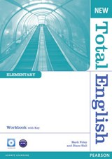 New Total English Elementary Workbook with Key and Audio CD | Diane Hall | 9781408267332