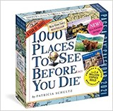 1000 Places to See Before You Die - Page A Day Calendar 2021 | Patricia Schultz | 9781523509072