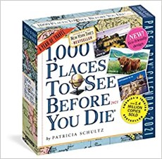 1000 Places to See Before You Die - Page A Day Calendar 2021