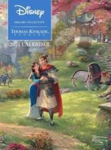 Disney Dreams Collection by Thomas Kinkade Studios: 2021 Monthly/Weekly Engageme | Thomas Kinkade | 9781524855970