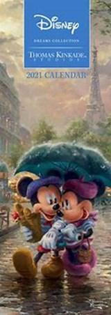Disney Dreams Kinkade Slimline Kalender 2021 | auteur onbekend | 9781524856137