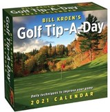 Golf Tip a Day Boxed Kalender 2021 | auteur onbekend |