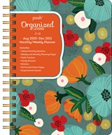 Posh: Deluxe Organizer 17-Month 2020-2021 Monthly/Weekly Planner Calendar | Andrews McMeel Publishing | 9781524857592