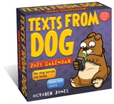 Texts from Dog 2021 Day-to-Day Calendar | October Jones | 9781524857790
