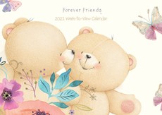 Forever Friends Week-to-View A4 Planner Calendar 2021