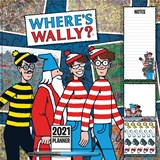 Where's Wally Household Square Wall Planner Calendar 2021 | auteur onbekend | 9781529809091
