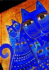 Laurel Burch, Med Cats, Mini, Lin | Paperblanks Book Company ; Paperblanks | 9781551564784