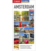 Amsterdam insight flexi map (06/15) | Insight Guides | 9781780053585