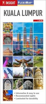Insight Guides Flexi Map Kuala Lumpur | auteur onbekend | 9781780053974