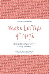 More letters of note | shaun usher | 9781782114543