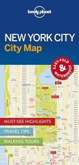 Lonely Planet New York City Map | Lonely Planet | 9781786574145
