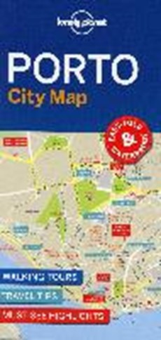 Lonely planet: city map Porto city map (1st ed)