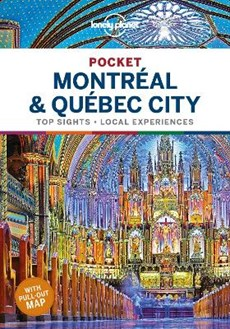 Lonely planet pocket: montreal & quebec city (1st ed)
