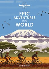 Epic adventures diary 2021 | Lonely Planet | 9781838690793