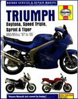 Triumph Daytona, Speed Triple, Sprint & Tiger | COMBS, Phil |