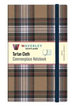 Commonplace notebook Stewart modern camel genuine tartan cloth (large) | auteur onbekend | 9781849344883